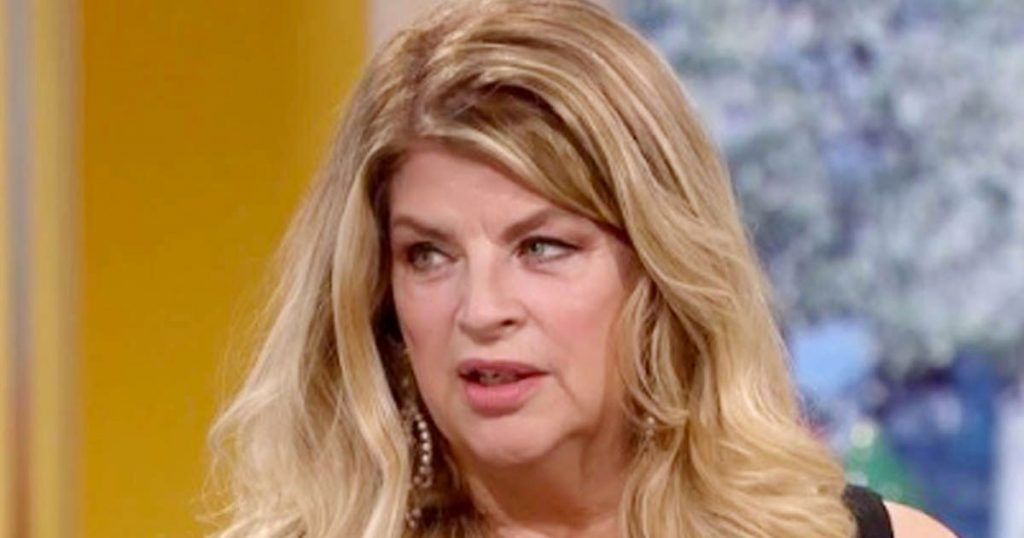 Kirstie Alley reveals secret punchgate discussions that CBB never aired |  Top News Wood
