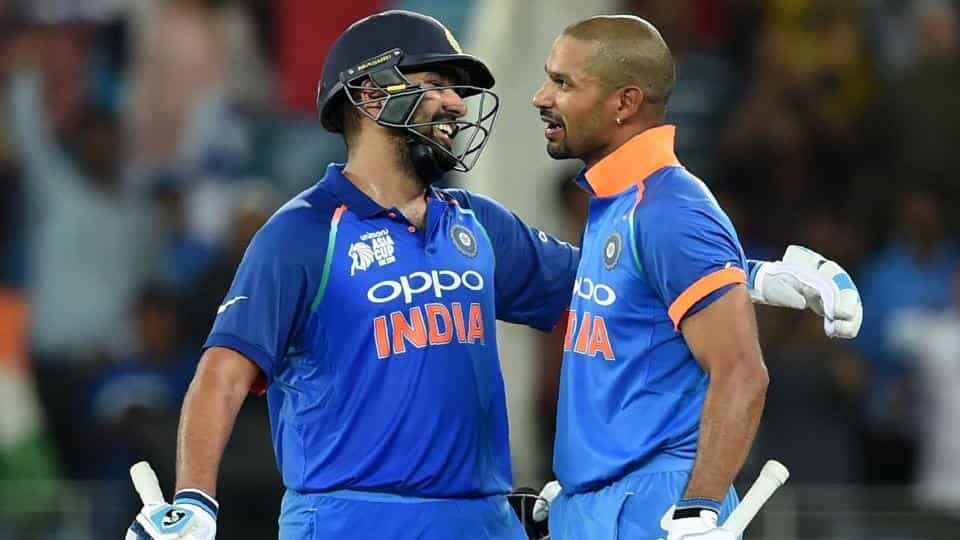 Shikhar Dhawan and Rohit Sharma smashed individual centuries in India's superb victory over Pakistan at Asia Cup 2018 | Image Source: BCCI