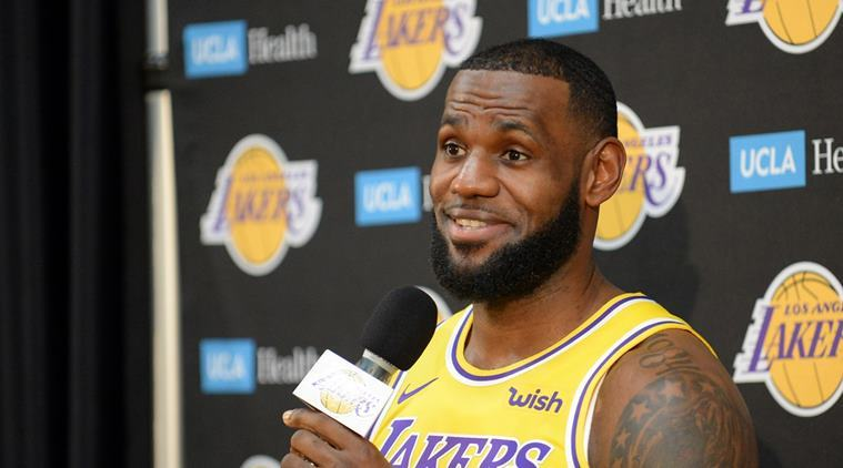 e20c7ab9356d NBA  LeBron James tempers expectations ahead of first season with Los  Angeles Lakers