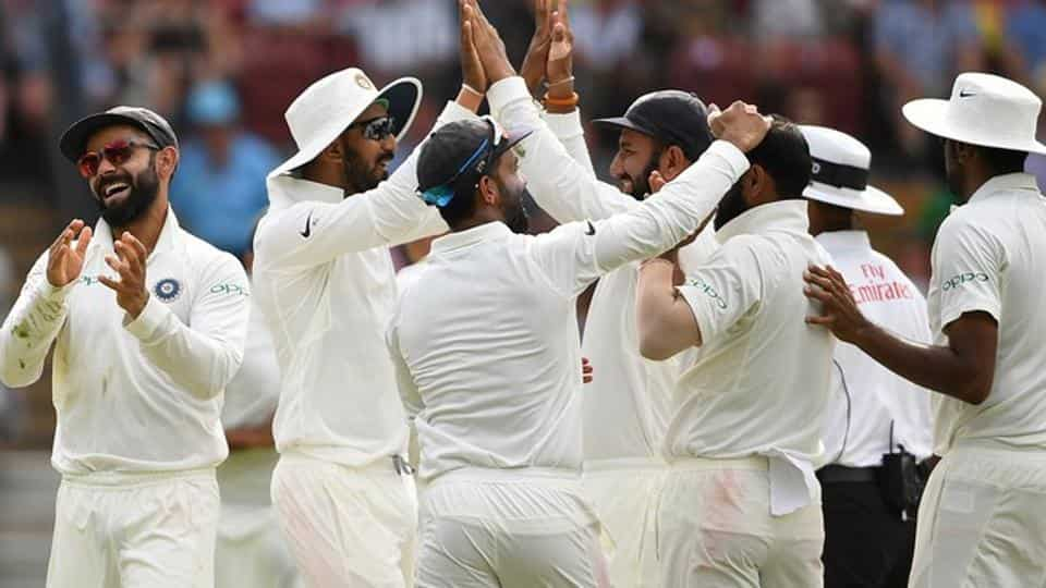 India Vs Australia Live Cricket Score 1st Test Day 5 In Adelaide
